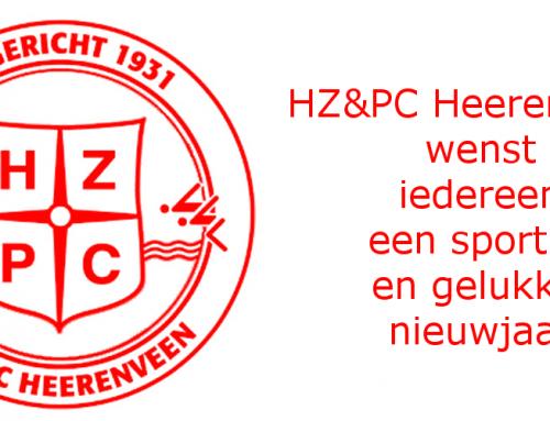 HZ&PC wenst iedereen een sportief en gelukkig nieuwjaar